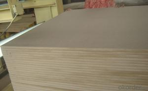 Plain MDF Board 12x1220X2800MM Light Color