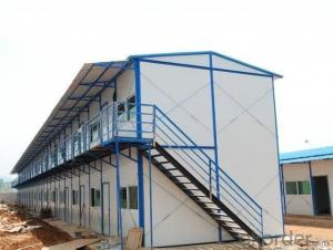 Sandwich Panel House with Morden Design on Low Cost