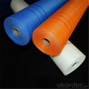 Alkali-Resistent Fiberglass Mesh 60g/m2 5*5MM High Strength