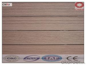 CE CertifEco-friendly Waterproof Indoor WPC Floor Decking /Engineered Flooring CMAX
