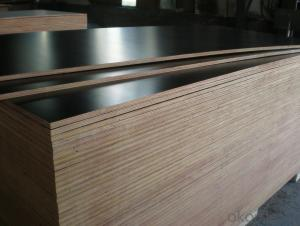 Brown Film Faced Plywood  Shuttering Plywood WBP Glue Construction Plywood 18mm