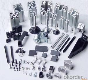 Aluminum Profile 6060 6061 6063 6082 Grade Aluminium Profile