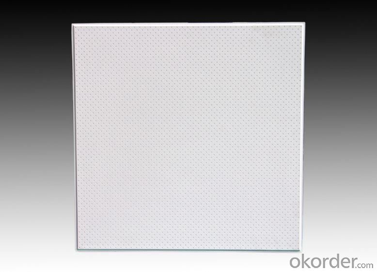 Buy Gypsum Board Good quality Low Price Acoustic Perforated