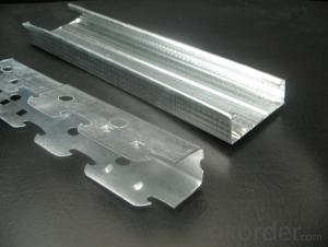Profiles to Dry Wall for  Lightweigt  Drywall Partition