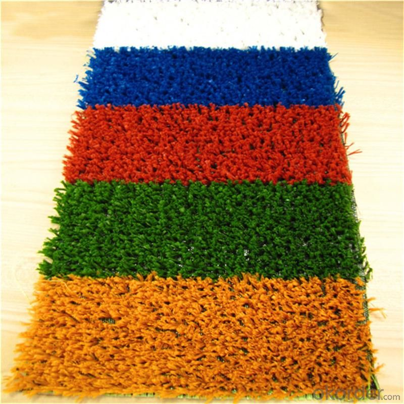 Football Artificial Grass , Green Futsal Synthetic Lawn For Soccer Filed