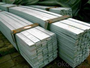 Hot Rolled Grade ASTM A36_S235JR_SS400 Steel Flat Bar Picture
