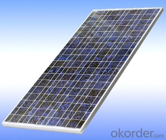Polycrystalline Solar Panel 130W Hot Selling High Efficiency