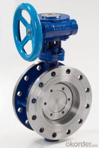 Turbine Type Butterfly Valve DN450 with Hand Wheel BS Standard