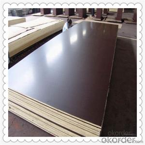 Brown Color Film Faced Plywood with 1220*2440*18mm Thickness