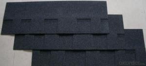 Colored Glass Fiber Asphalt Shingle For Roofing