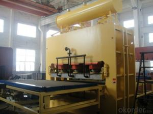 Veneer Short Cycle Press Machinery for Furniture