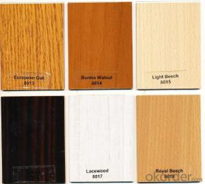 Melamine MDF in Many Different Wood Grain Colors