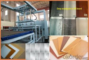 Wood Working MDF Boards Hot Press Machinery