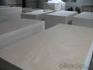 UV Coated Birch Melamine Plywood Commercial Plywood for Sale  for Furniture