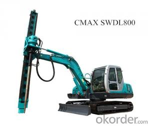 CMAX SWDL800 Augered Pile Rig for Sale on Okorder.com