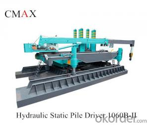 CMAX 1060B-II Series Hydraulic Static Pile Driver for Sale