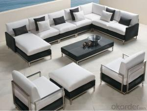 Outdoor Furniture Sofa Sets PE Rattan CMAX-WD0011