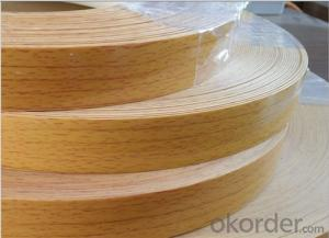 PVC Decorative Edge Banding, Mdf o Plywood Pvc Edge Banding tape