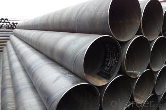 SSAW Hot Rolled Steel Tubes