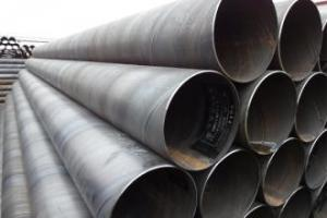 SSAW Steel Tubes With High Quality