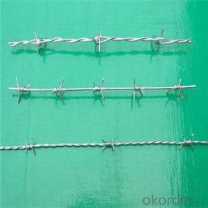 Barbed Wire Hot Dipped/ Electric Galvanized Double Twist for Fence