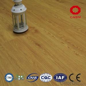 Hot selling vinyl laminate flooring with low price in cnbm