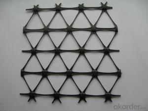 Fiberglass Geogrid Applicated for Soil Reinforcement