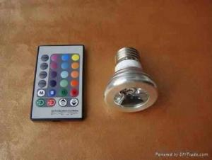 GU10 3W Remote Controlled LED light