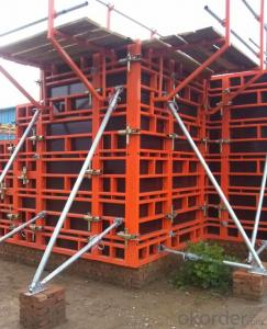 Steel Frame Formwork for Apartment Construction