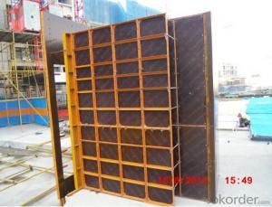 Steel Frame Formwork for School Construction