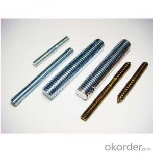 Thread Rod Din975 in Hardware,Zinc Plated Thread Rod,Thread Bar