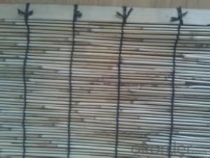 Reed Garden Fencing Decoration Black Yard