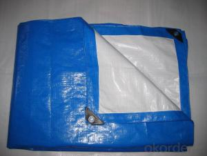 Tarpaulin Cover Polyethylene Woven Fabric Waterproof