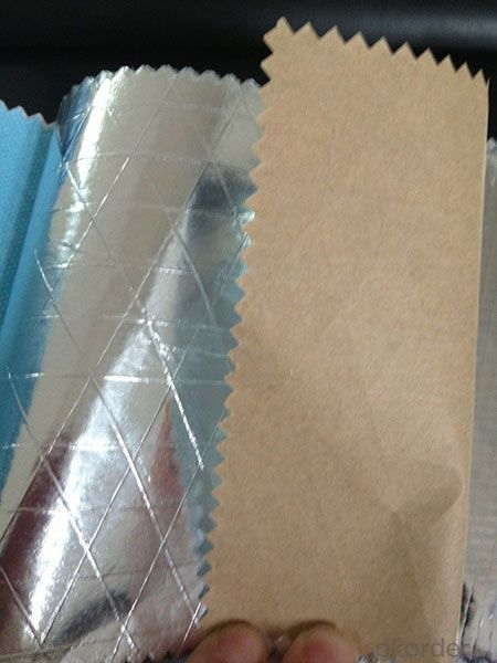 Buy Insulation Facing With Aluminum Foil And Kraft Paper