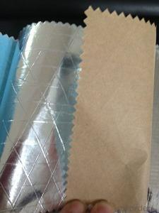 Insulation Facing with aluminum foil and Kraft paper Reinforced by Scrim