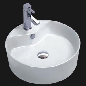 Floor Standing Bathroom Ceramic Pedestal Basin - 3022