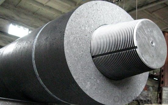 Graphite Electrodes UHP with Nipples for Electric Arc Furnace