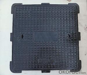 Manhole Cover Ductile Iron Cast Iron EN124 D400