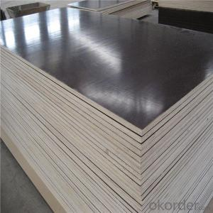 Full Whole Poplar Veneer Core Brown Phenolic Film Faced Plywood for Construction