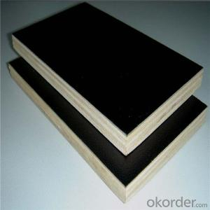 1220*2440mm High Quality Brown or Black One Time or Two Times Hot Press Film Faced Plywood
