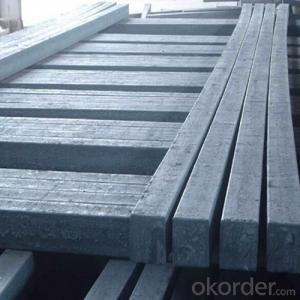 Steel Billet in Square Straight Form Big Sizes High Quality