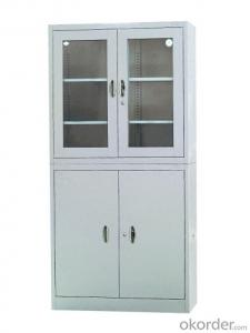 Steel Furniture with Glass Door CMAX-008