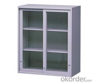 Metal Cabinet  with Glass Door CMAX-0032