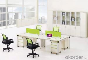Steel Office Furniture Desk with Customized Material
