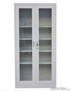 Steel  Cabinet  with Glass  Door CMAX-0033