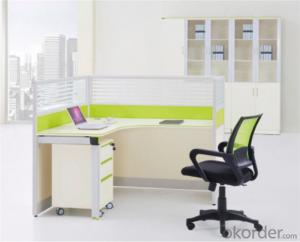 Steel and MFC Executive Desk for Single Employees