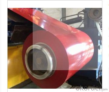 BRIGHT GOOD PREPAINTED GALVANIZED STEEL COIL