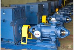 Horizontal Multistage Water Pump for Pump Station