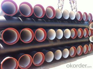 Duct Iron Pipe DI Pipe ISO 2531 DN 80-2000mm K9