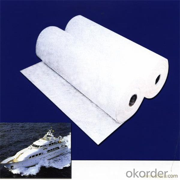 Chopped Stand Mat for Fiberglass Boat Parts